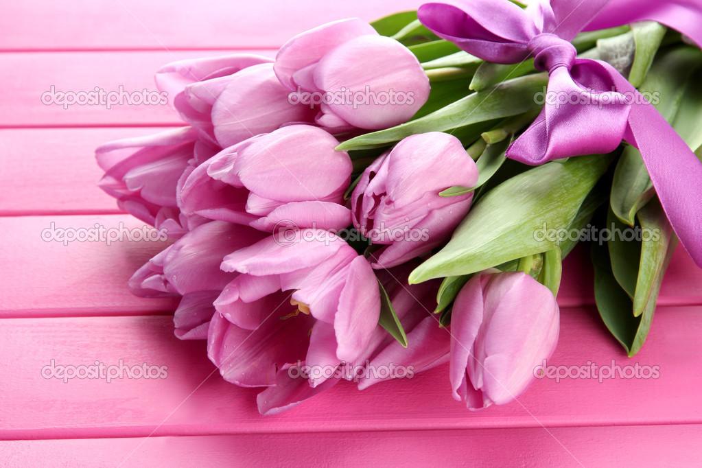 Букет из тюльпанов валентина — img 13