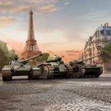 Фотообои Танки (World of tanks)