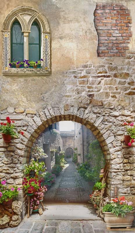 Фотообои с аркой