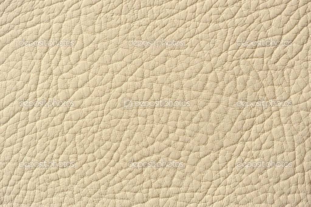 Ivory leather