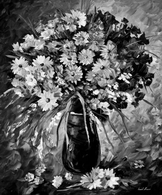 Постеры для интерьера  цветы
