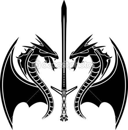 Драконы картинки черно белые смотреть онлайн фотоография
