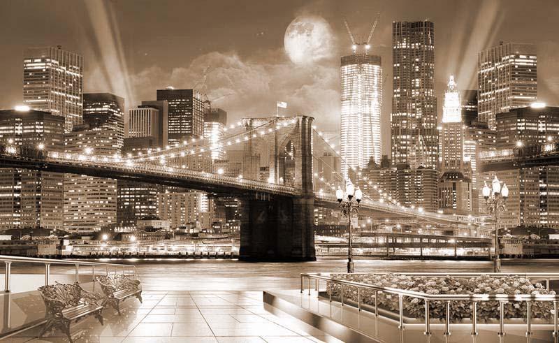 города фотообои фото
