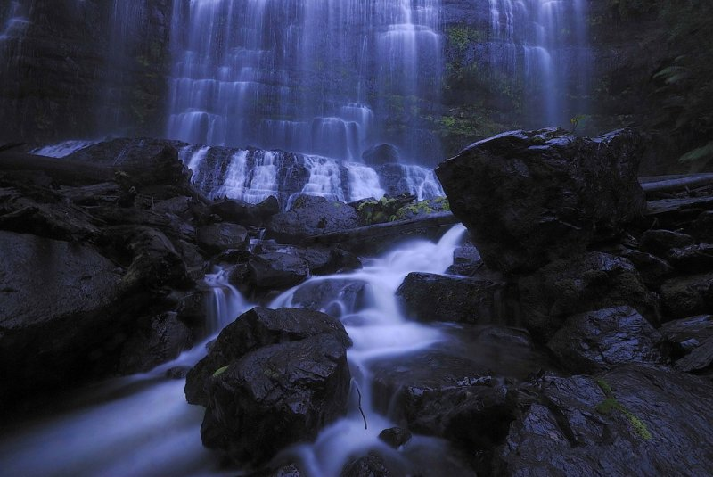 фотообои на стену водопад: